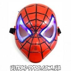 """Маска """"Человек паук"""" (глаза с подсветкой)"""