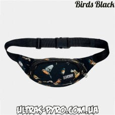 "Сумка на пояс ""Urban Planet"" Birds Black"